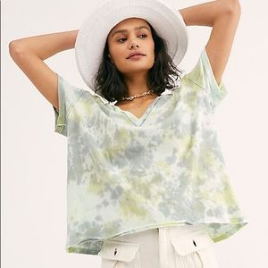 Free People All Mine Tie Dye Tee NWT S